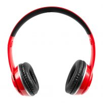 AUDIFONOS BLUETOOTH 725RD ROJO