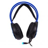 AUDIFONOS ALAMBRICOS GAMER USB 5.1 AZUL