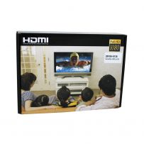 CONVERSOR VGA C/AUDIO A HDMI FULL HD NEGRO