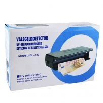DETECTOR DE BILLETES 6 W DL-102